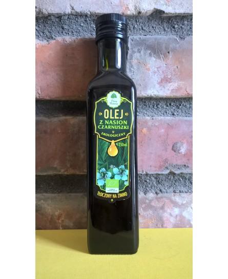Olej z czarnuszki BIO - 250ml Dary Natury