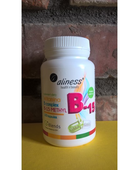 Witamina B Complex B 15 Methyl 100 kapsułek