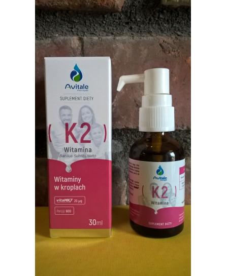 Witamina K2 20 µg suplement diety