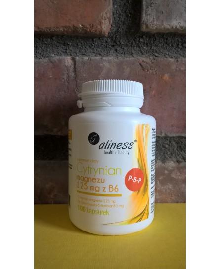 Cytrynian Magnezu 125 mg z B6