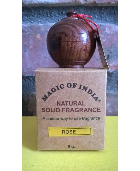 RÓŻA naturalne perfumy w kremie