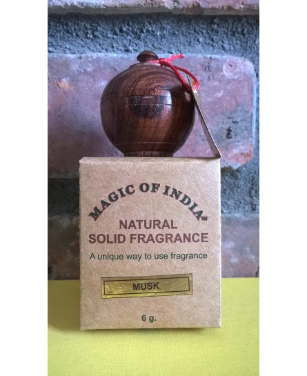 MUSK - ciepłe piżmo - naturalne perfumy w kremie