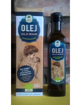 Olej DLA MAM Ekologiczny - 250 ml