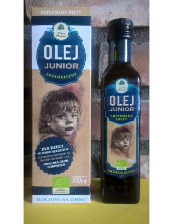 Olej JUNIOR Ekologiczny - 250 ml
