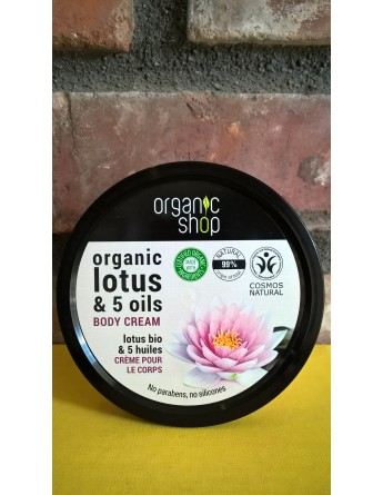 Krem / Balsam do ciała ORGANIC LOTUS & 5 OILS