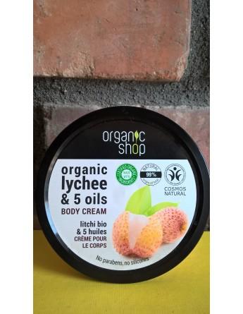 Krem / Balsam do ciała ORGANIC LYCHEE & 5 OILS