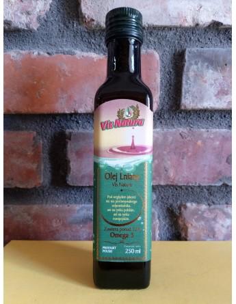 Olej lniany nierafinowany - 250 ml