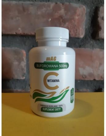 mAG Witamina C 500 mg BUFOROWANA najwyższa czystość