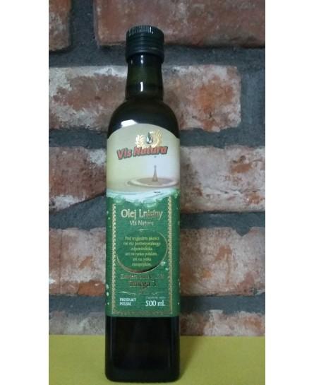 Olej lniany Nierafinowany - 500 ml